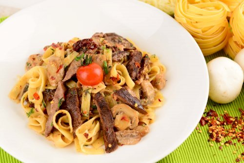 Tagliatelle Spicy Beef