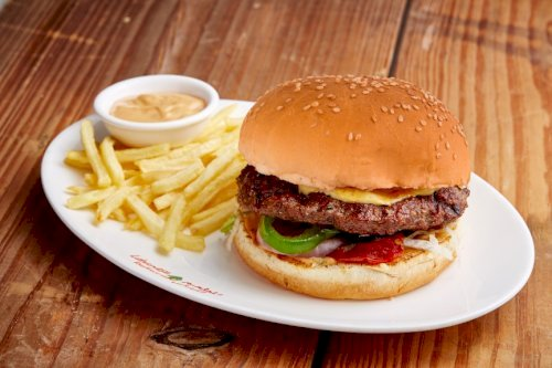 Special Swiss Mashroom Burger