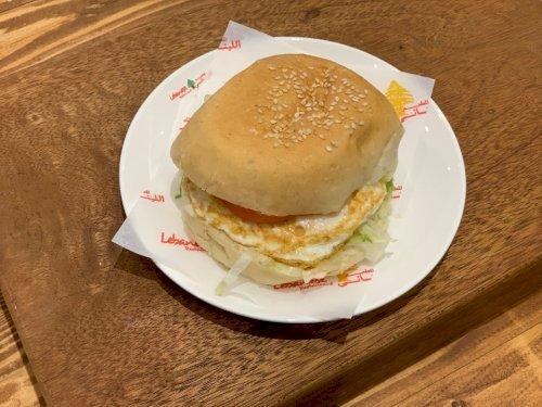 (ساندويتش بيض ( مقلي او مسلوق
