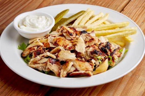 طبق شاورما دجاج