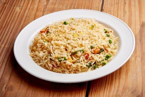 أرز مشكل مقلي