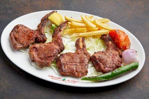 طبق ريش لحم