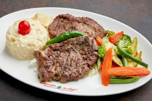 Meat Steak with Mashpotato