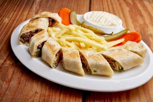 Saj Special Shawarma (Meat)
