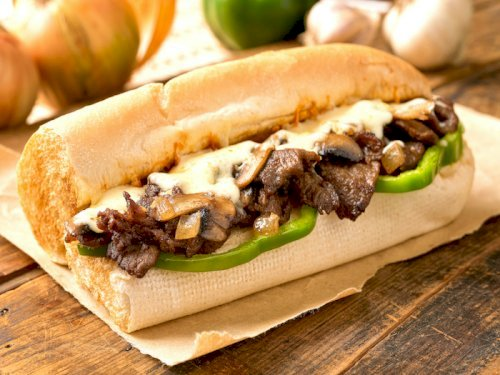 Rib-Eye Steak Sandwich