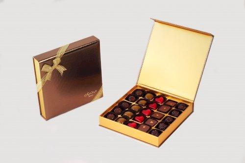 Midas Square Large with assorted Origin Chocolates