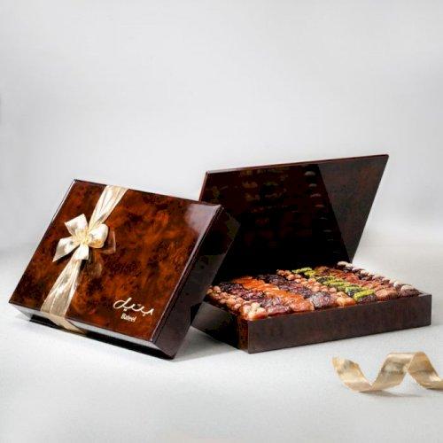 Wood Box Rectangle XL 2 Layers