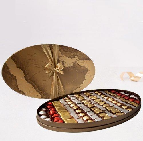 Gulf Map Oval Large Chocolates