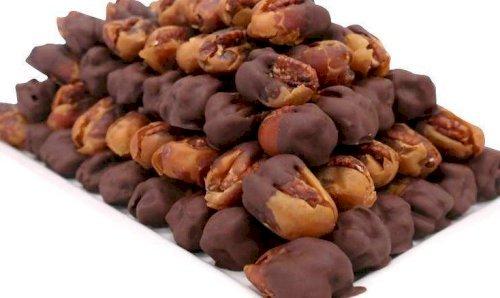Kholas Premium Large with Pecan Dipped in Dark Chocolate