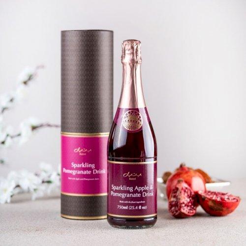 Sparking Pomegranate Juice