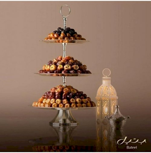 Luxury 3 Layer Tray (Etagere Silver L)