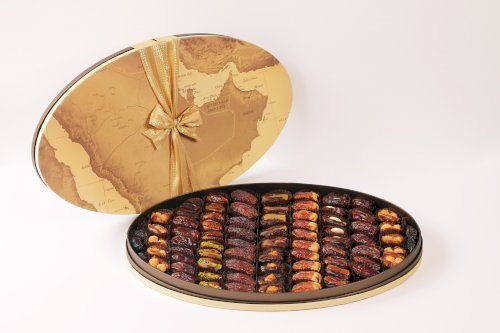 Gulf Map Oval L with Assorted Premium and Filled Dates