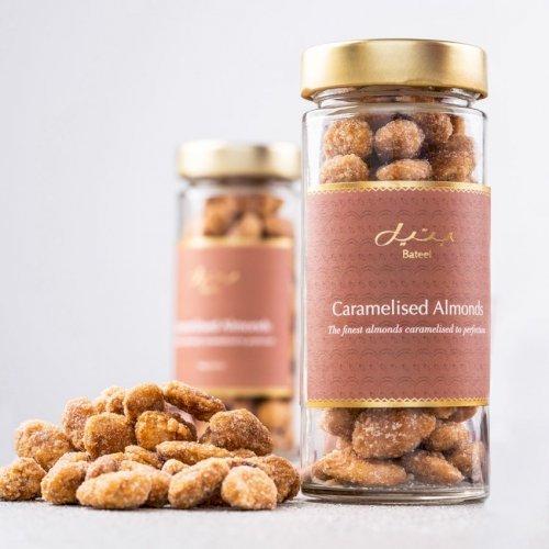 Caramelised Almonds