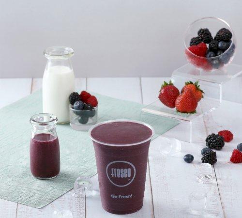 Mix Berries Smoothie