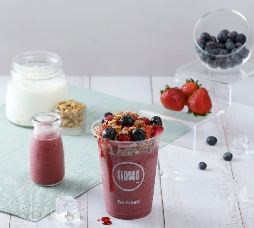 Fresh Blueberry Yougo Smoothie